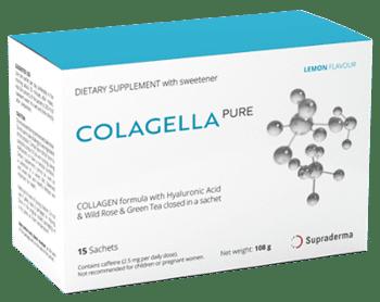 Colagella Pure est un excellent moyen de retarder le processus de vieillissement! Sentez-vous efficace et jeune!